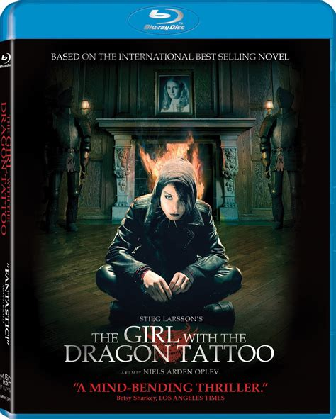 dragon tattoo the girl movie the girl with the dragon tattoo 2009 extended bluray