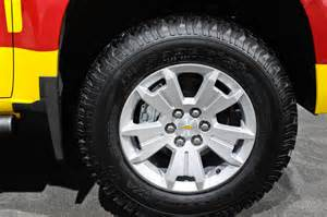 Wheels Truck Images 2015 Chevrolet Colorado Lifeguard Show Truck Wheels Photo 9