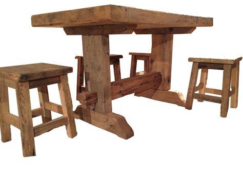 tavolo sgabelli tavoli sedie arredamenti porte in pregiato legno antico