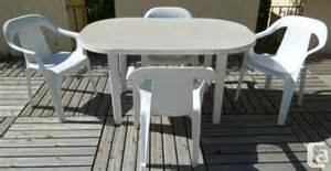 Resin Patio Table And Chairs White Resin Patio Table 4 Chairs New Calgary Sw For Sale In Calgary Alberta Classifieds