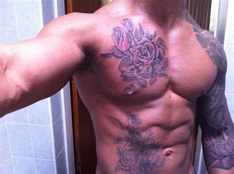 zyzz tattoo chest torso of the god zyzz az zyzz pinterest