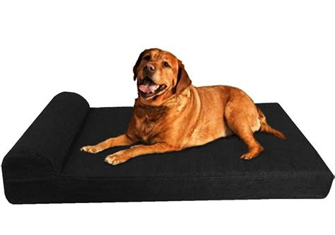 orthopedic dog bed reviews dogbed4less premium extra large orthopedic pet dog bed review