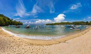 worlds  hidden beaches bali travel  guardian