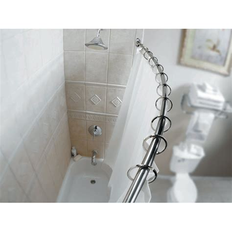 bathroom rod shower quot curved quot shower rod rona