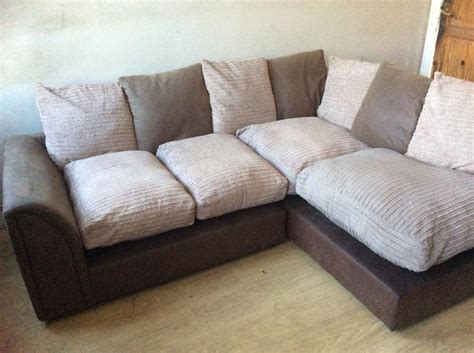 fabric corner sofa sale brown suede and beige fabric corner sofa for sale