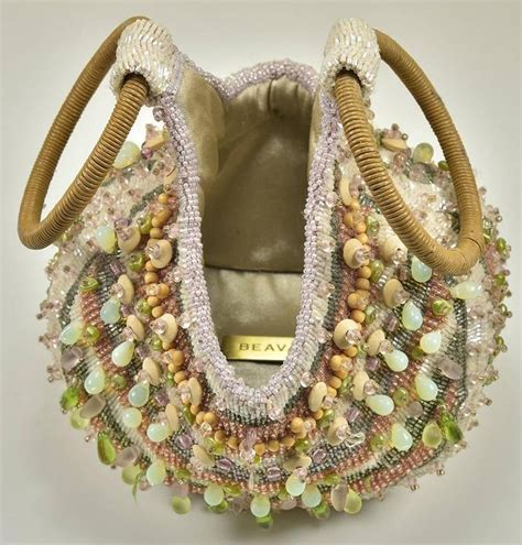 Handmade Beaded Purses - great bea valdes handmade beaded bag for sale at 1stdibs