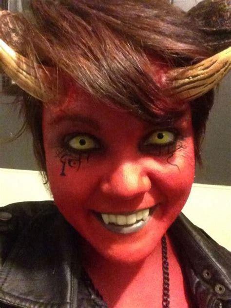 12 Spooky Halloween Devil Makeup Ideas For Girls & Women