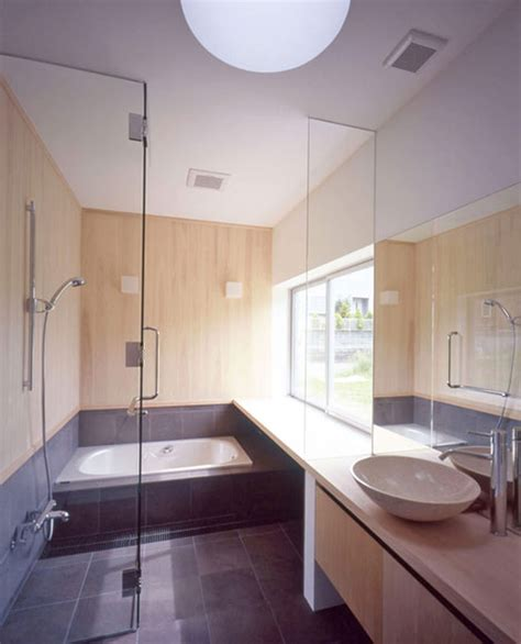 Solid Design of Concrete House Architecture Bathroom