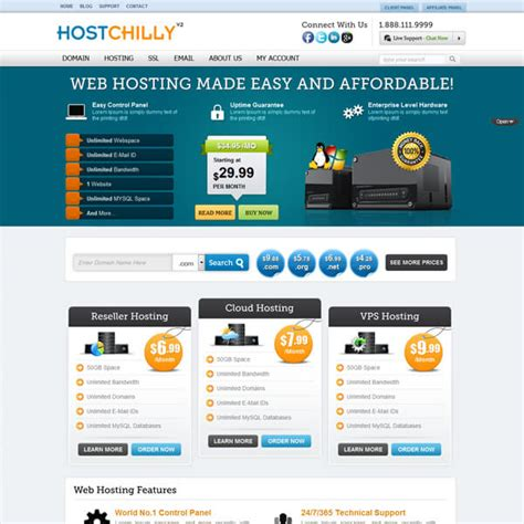 theme wordpress free hosting best hosting templates themes themechilly