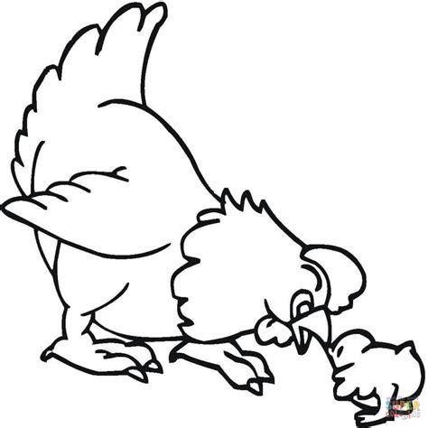 imagenes para dibujar gallinas dibujo de gallina y pollito para colorear dibujos para