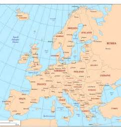 Europe Map Countries And Capitals by Pics Photos Map Of Europe With Countries And Capitals