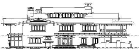 Plan Of A House Gamble House Project Theresa J Mozinski Architecture