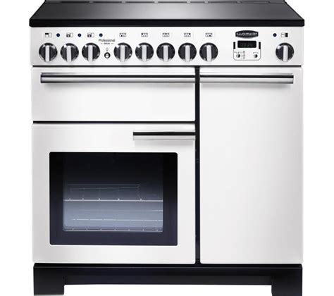 kitchen master induction cooker buy rangemaster professional deluxe 90 electric induction range cooker white chrome free