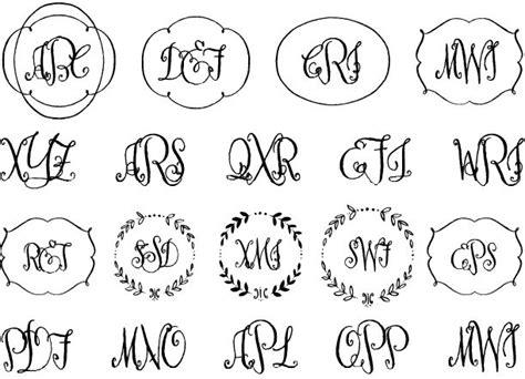 font design workshop 48 best monograms images on pinterest monograms