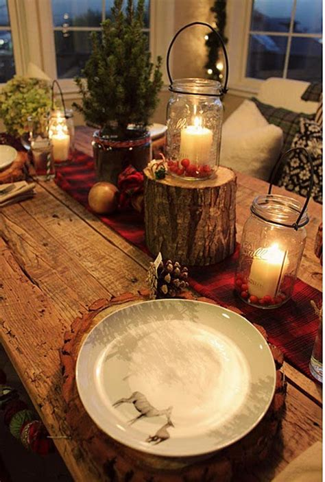 decoration site 35 christmas table decoration ideas for 2017