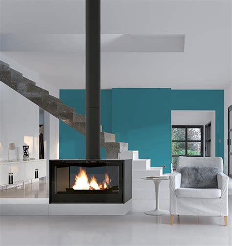 sided wood fireplace sided fireplaces designer suspended