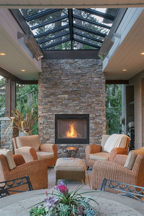 fireplace warms up houston outdoor sitting area outdoor gas fireplace covered porch fireplaces