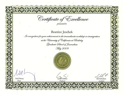 certificate of recognition template publisher download