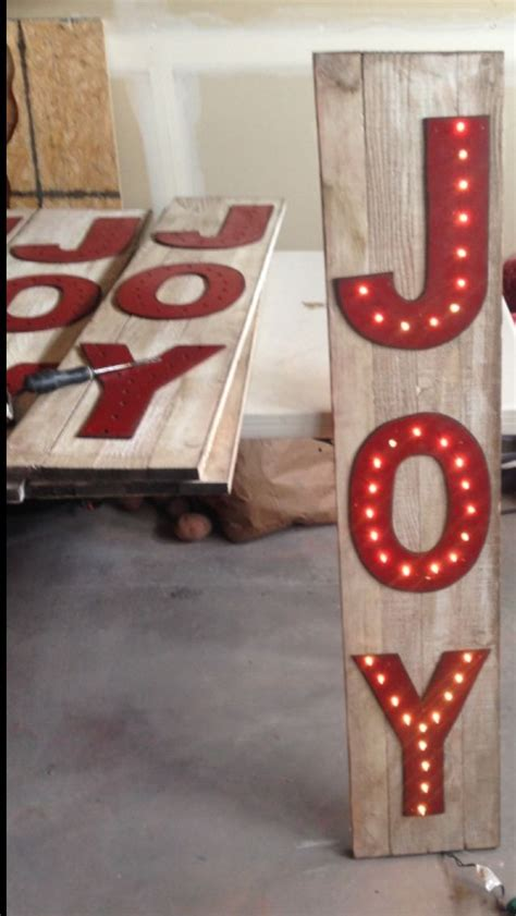 joy light up sign 75 best wood yard ornaments images on pinterest