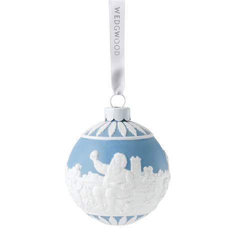 santa s workshop ball christmas ornament 2017 wedgwood