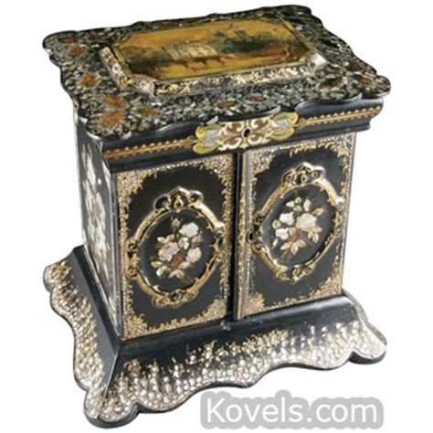 How To Make Paper Mache Furniture - antique papier mache furniture clocks lighting price