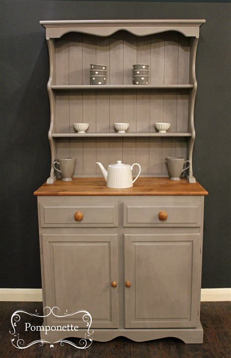 Small Farmhouse Dresser by Pomponette   Painted Furniture