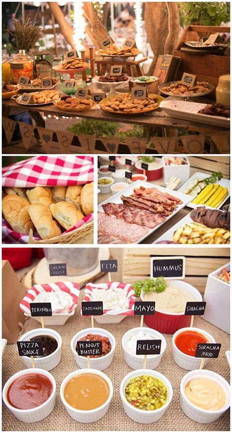 backyard party menu ideas backyard bbq birthday party ideas backyard bbq engagement
