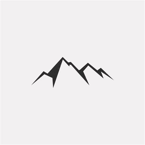 mountain silhouette tattoo 25 best ideas about geometric designs on