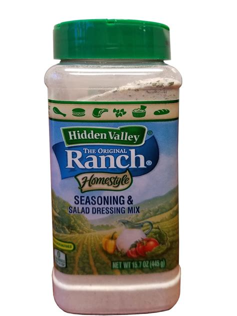 hidden valley salad dressing seasoning mix spicy ranch 1 oz ebay hidden valley ranch homestyle seasoning salad dressing
