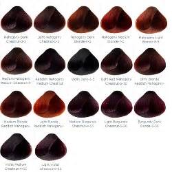 mahogany hair color chart the gallery for gt mahogany hair color chart