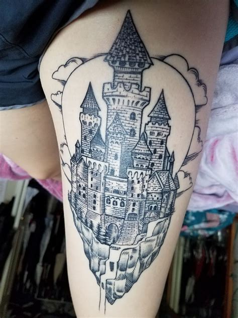 pierced hearts tattoo my floating castle alan pierced hearts