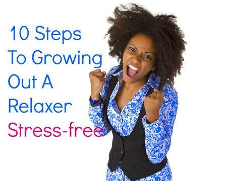 hairstyles for growing out perm 10 steps to growing out a relaxer stress free naturalhair
