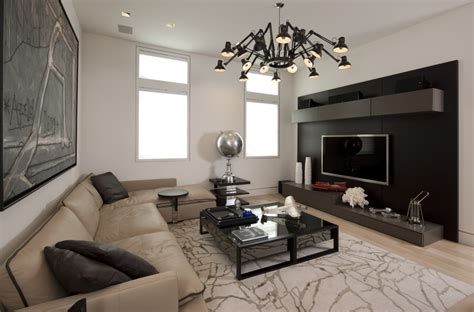 family media room tv wall units family room contemporary with wall beige