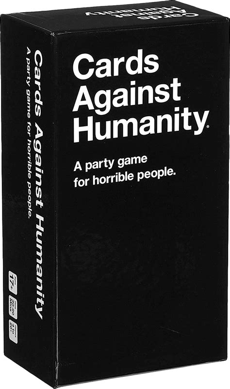 board games cards  humanity   party game  horrible people  editionnew