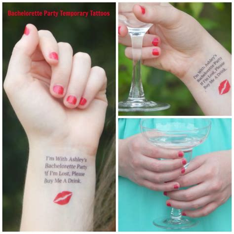 bachelorette party tattoos bachelorette tattoos bachelorette temporary