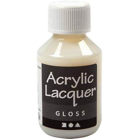 Acrylic Lacquer Gloss 100ml Acrylic Paint Paint Diy