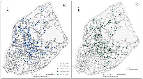 pattern analysis network ijerph free full text spatial distribution