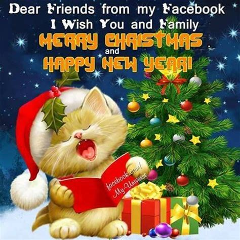dear friends   facebook     family merry christmas  happy  year pictures