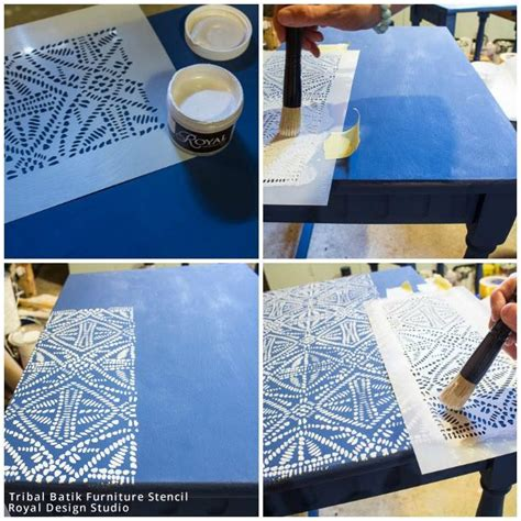 Batik Tribal Top Series 1000 images about stenciled and painted furniture on