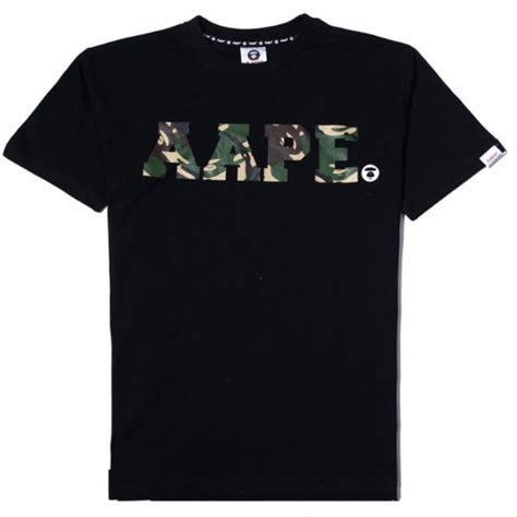 Premium Bathing Ape Bape T Shirt Black Army the gallery for gt camo obey