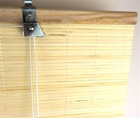 plisse gordijn 160 breed bamboe rolgordijn natuur trisq nl