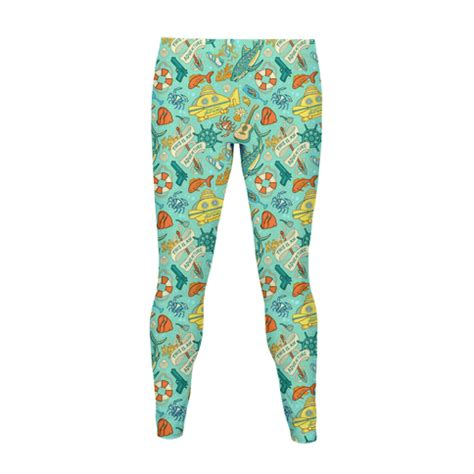 design by humans leggings life aquatic pattern women s leggings human