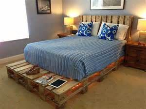 How To Make Bed Frame Out Of Wood Pallets Cama De Pallet 45 Ideias E Passo A Passo F 225 Cil