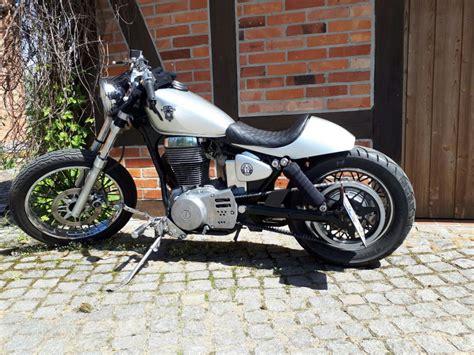 Motorrad Suzuki Ls 650 by Bobber Heck F 252 R Die Suzuki Ls650 Savage Espiat