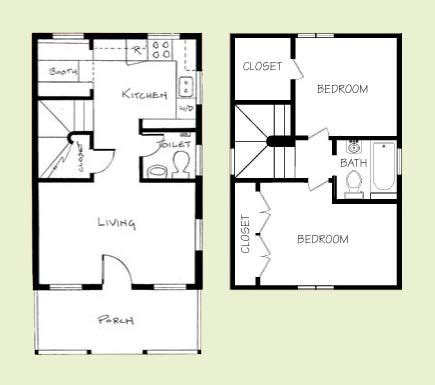 700 square foot house plans 600 700 sq ft living simply pinterest