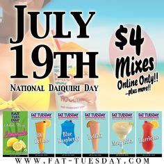 National Daiquiri Day by Drinks On 15 Pins