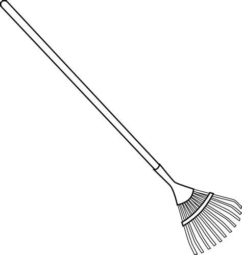 bw rake clip art at clker com vector clip art online