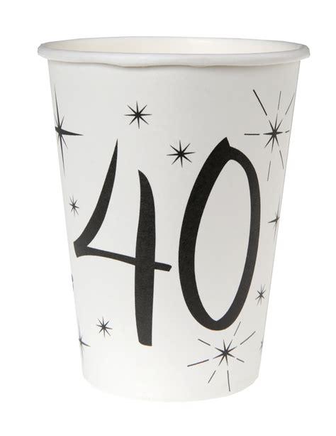 bicchieri bianchi 10 bicchieri bianchi 40 anni su vegaooparty negozio di