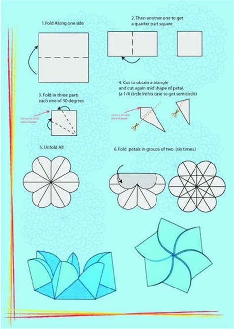 Paper Folding Box Template - 174 best images about tea bag folds on