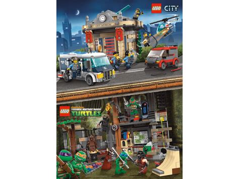 lego 174 city mutant turtles poster 5002445 bricks and more brick browse shop